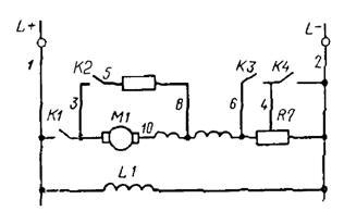 государственный стандарт союза сср единая система конструкторской документации обозначения условные проводов  и контактных соединений  электрических элементов,  оборудования и участков цепей  в электрических схемах гост 2.709-89