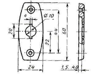 государственный стандарт союза сср изделия скобяные запирающие для деревянных окон и дверей типы и основные размеры гост 5090-86