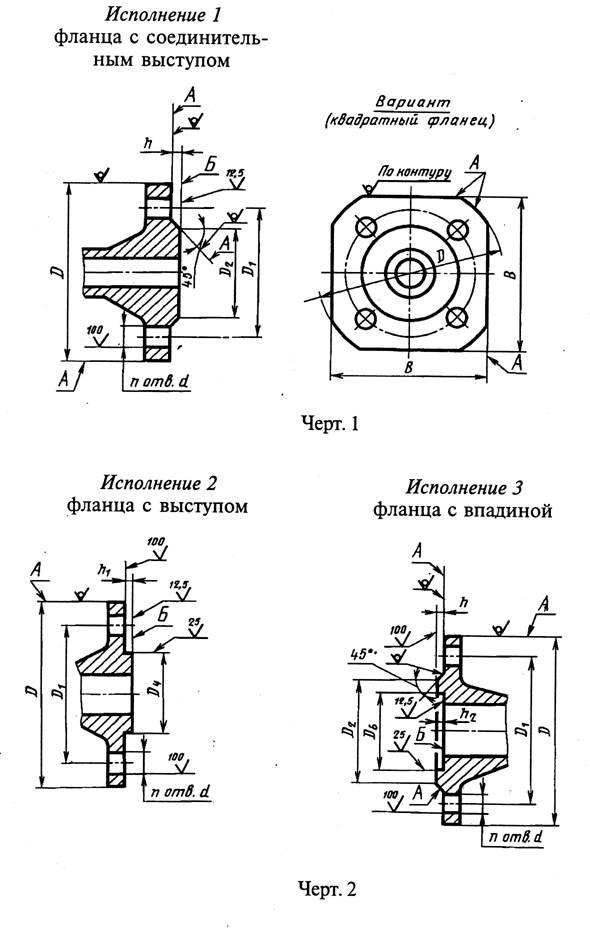 УДК 621.643.412:006.354 Группа Г18  государственный стандарт союза сср  фланцы арматуры, соединительных частей и трубопроводов на py от 0,1 до 20,0 мпа (от 1 до 200 кгс/см2)