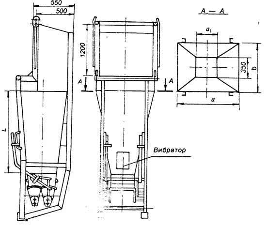 государственный стандарт союза сср бункера (бадьи) переносные вместимостью до 2 м3 для бетонной смеси общие технические условия гост 21807-76 государственный строительный комитет ссср
