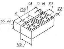 межгосударственный стандарткирпич и камни  керамические