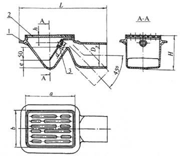 межгосударственный стандарт трапы  для систем канализации зданий технические условия
