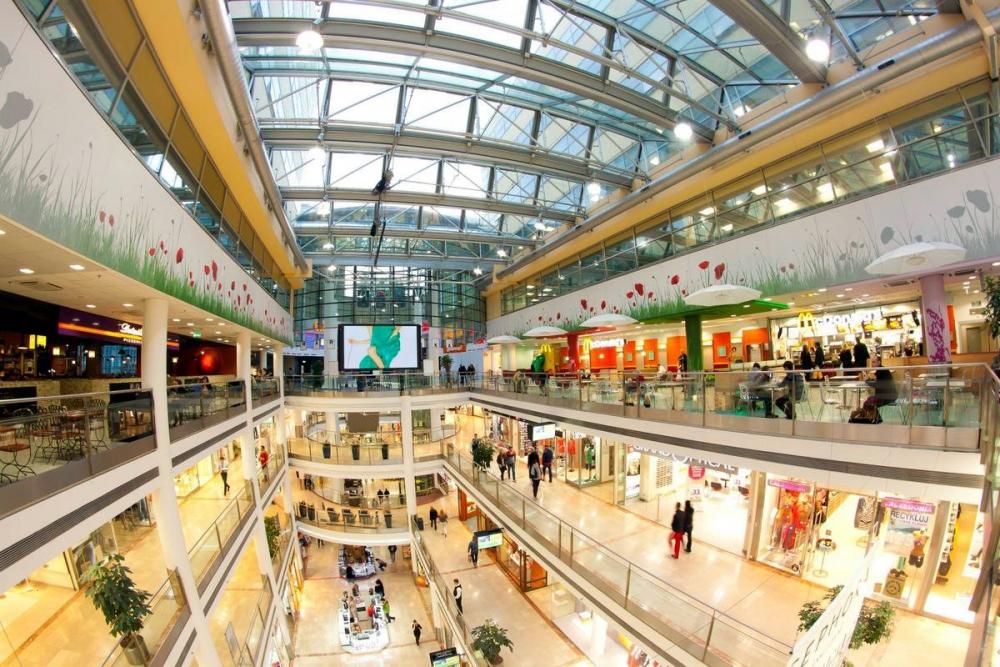 Торговых центров строят всё меньше