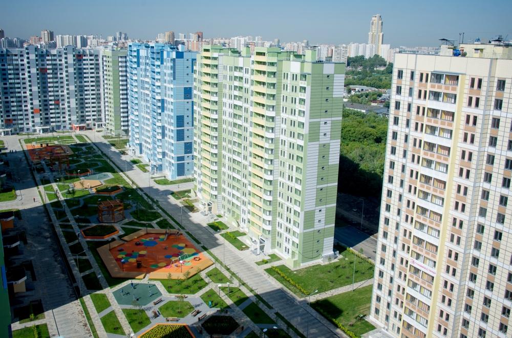 Темпы строительства столичного жилья увеличиваются