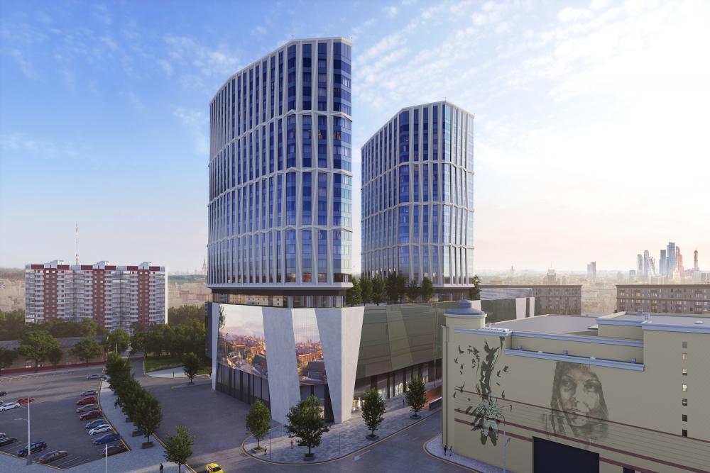 Проект «Дом Chkalov», ставший символом обновления Басманного района, реализован на 50%